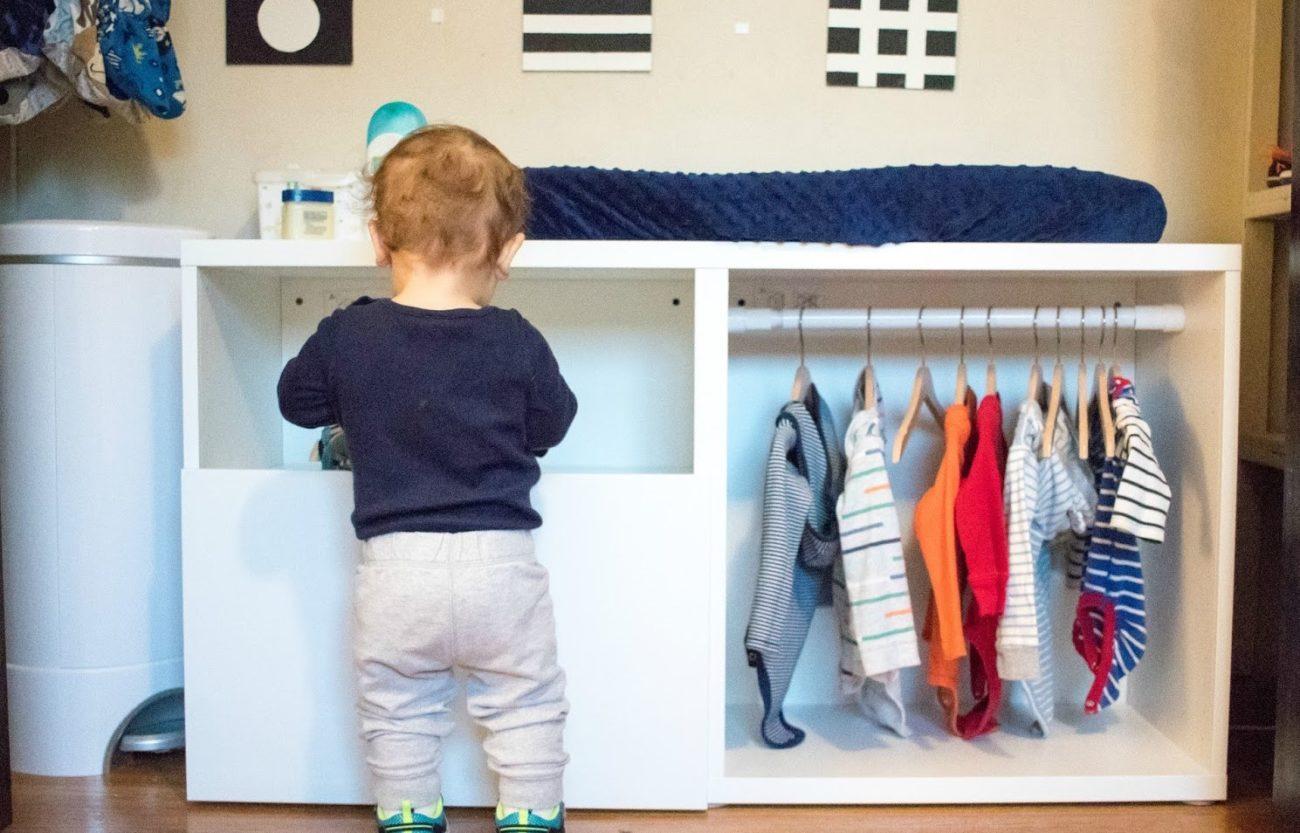 Como organizar ropa nño