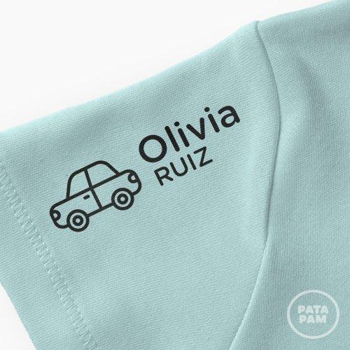 Sello marca ropa coche