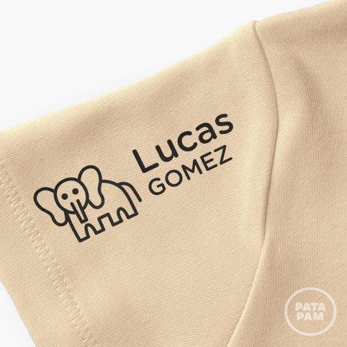 Sello marca ropa elefante