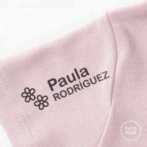 Sello marca ropa flores