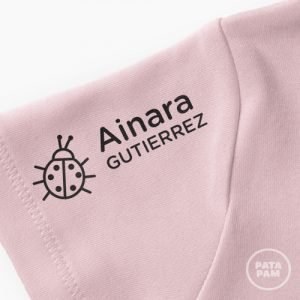 Sello marca ropa mariquita