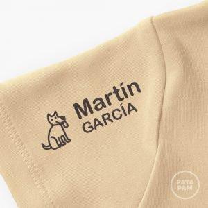 Sello marca ropa perro