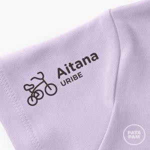 Sello marcar ropa triciclo