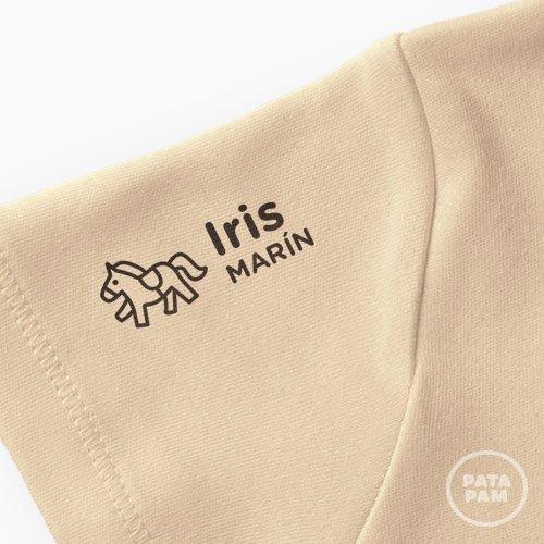 Sello marca ropa caballo