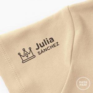 Sello marca ropa princesa