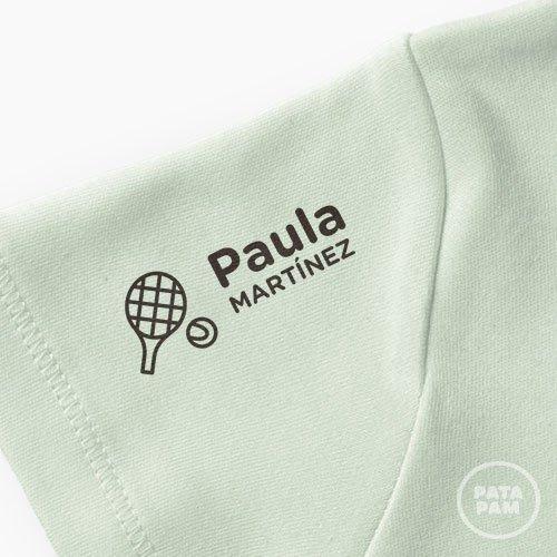 Sello marca ropa tenis